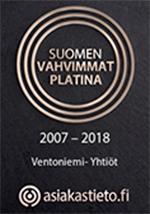 Suomen Vahvimmat –sertifikaatti